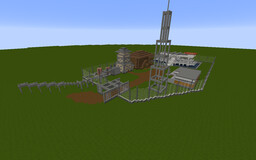 Isla Sorna Buildings Minecraft Map & Project