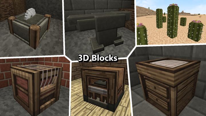 Imperial Odysseys offers many 3D Blocks.