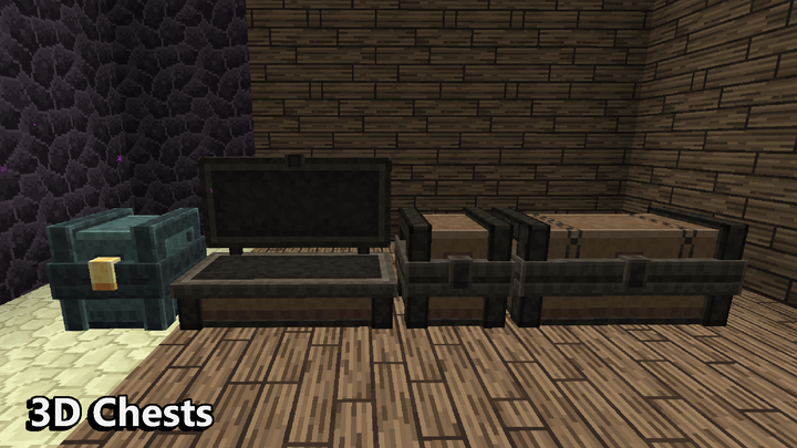 Chest are also 3D here. You have never seen that before, right?