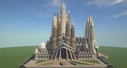 Basílica de la Sagrada Família Minecraft Map & Project