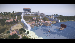 Argos (Ancient Greek City) Minecraft Map & Project