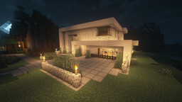 Modern Home II Minecraft Map & Project
