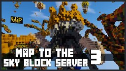Minecraft | Map To Your Sky-Block Server 🌴 To Download For Free ! Minecraft Map & Project