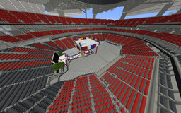 Mercedes Benz Stadium (DREAM Wrestlemania 38) Minecraft Map & Project