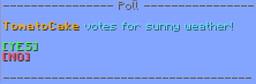 Polls | Create custom polls Minecraft Data Pack
