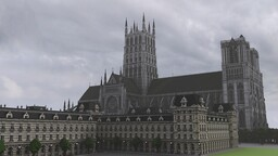 3:1 scale Cathedral Minecraft Map & Project