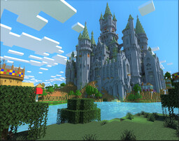 Hogwarts Castle (Book version, full interiors) Minecraft Map & Project