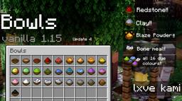 Bowls 1.15 Minecraft Texture Pack