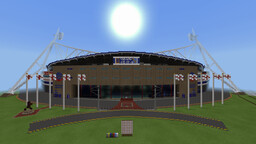 University of Bolton Stadium (Bolton Wanderers) Minecraft Map & Project