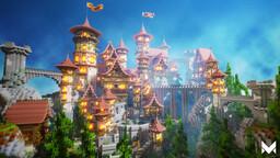 1.15.2 Aspiria - Survival | Skyblock | No-Grief | Economy | Community | Competitive | Enchants Minecraft Server