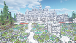 Heaven Wonderland Mansion Minecraft Map & Project