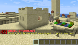 [1.15][Bukkit] BasicBroadcast - Easily create broadcast messages! Minecraft Mod