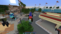 Snuck into California Disney early on the Disneyland server! Minecraft Blog