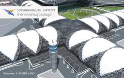 Suvarnabhumi Airport / ท่าอากาศยานสุวรรณภูมิ Minecraft Map & Project