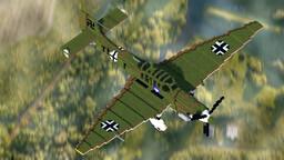 WW2 Warplane - Ju 87D-5 Minecraft Map & Project