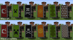 Shield Corrections Minecraft Texture Pack