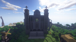 St. Matthew's Cathedral Minecraft Map & Project