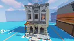 Classic style Procedural Metropolis Entry Minecraft Map & Project