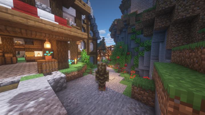 Crimson marketplace