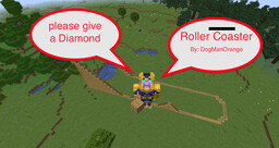 Roller Coaster Minecraft Map & Project