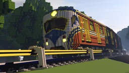 Train AmRa700 Minecraft Map & Project