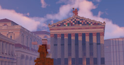 The forum of Julius Caesar 280 AD - Conquest Reforged Minecraft Map & Project