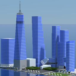 Current World Trade Center Minecraft Map & Project