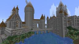 Hogwarts castle build!! Minecraft Map & Project