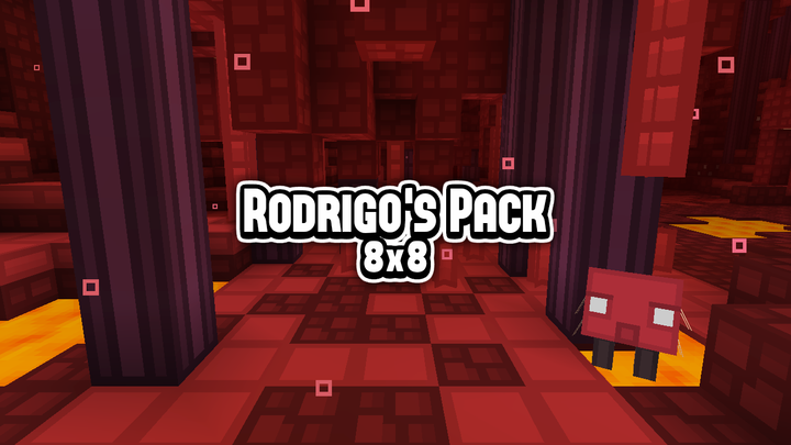 Popular Texture Pack : (8x8) Rodrigo's Pack - Get into a cartoon and colorful world!