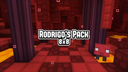 (8x8) Rodrigo's Pack - Get into a cartoon and colorful world, now in the Nether! Minecraft Texture Pack