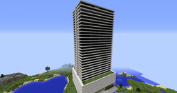 Building - Eclipse Tower GTA V ★★★★★ With Interior and Garage - AlexGamer852 Minecraft Map & Project