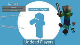 Undead Players - Gamemode 4 Module Minecraft Data Pack