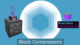 Block Compressors - Gamemode 4 Module Minecraft Data Pack