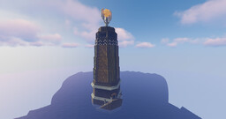 Bioshock Rapture Lighthouse Minecraft Map & Project