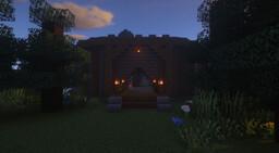 Circular Village Minecraft Map & Project