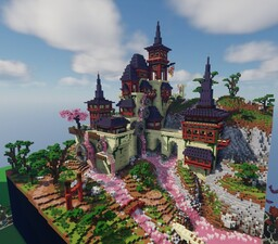 Asian fantasy Minecraft Map & Project