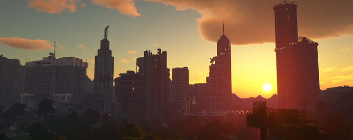Sunset over the 2nd city