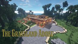 Grassland Adobe (Experimental Architecture) Minecraft Map & Project