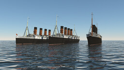 RMS Lusitania - 105th Anniversary Minecraft Map & Project