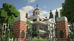 The Haunted Mansion - Disneyland Version Minecraft Map & Project