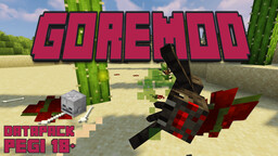 GoreMod : blood and bleedings 18+ [NOW 1.17 !!!] Minecraft Data Pack