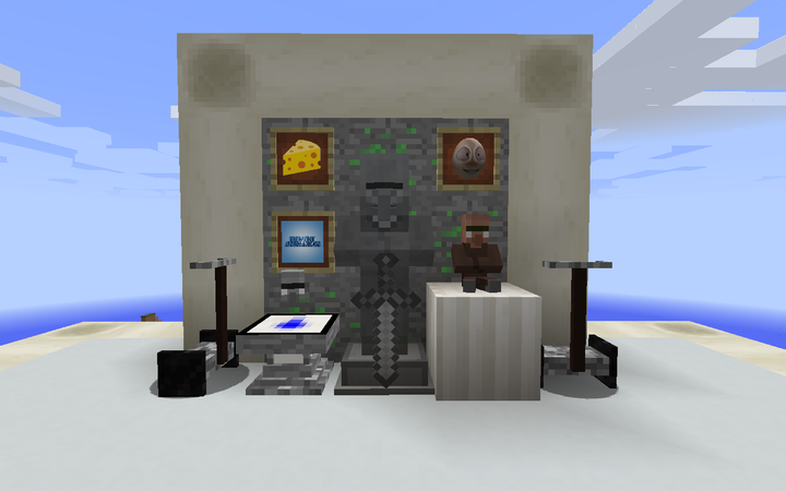 Decorations Altar, Statue, and Plushie