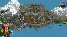 Kingdom of Galekin 1.6 Minecraft Map & Project