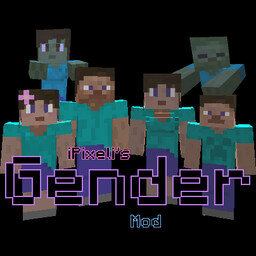 iPixeli's Gender Mod Minecraft Mod