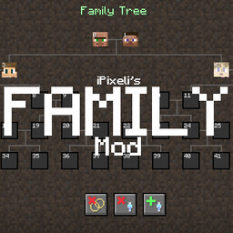 Family Minecraft Mod