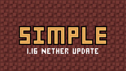 Digs' Simple Pack [latest snapshot 20w21a - 100% complete] Minecraft Texture Pack