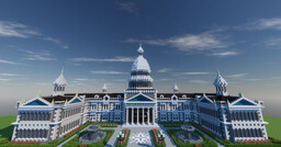 United Biomes State Capitol (With Interior) Minecraft Map & Project