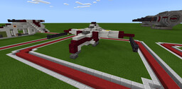 Aggressive ReConnaissance-170 Starfighter Minecraft Map & Project