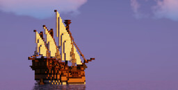 Dummy Thicc Caravel Minecraft Map & Project