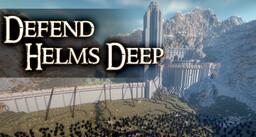 Defend Helm's Deep (BATTLE) Minecraft Map & Project